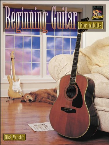 Beginning Guitar For Adults (Book & Cd)