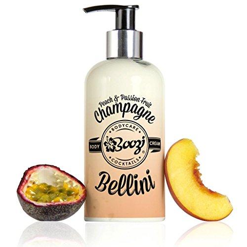 Boozi Body Care Passion Fruit & Peach Bellini Nourishing Body Cream 250ml