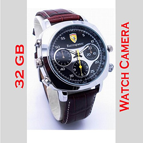 WRIST WATCH VIDEO CAMERA (32 GB inbuilt memory)  available at amazon for Rs.4999