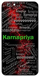 Karnapriya (Something That Is Sweet To Our Ears) Name & Sign Printed All over customize & Personalized!! Protective back cover for your Smart Phone : Samsung Galaxy S5 / G900I