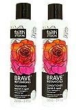 Faith In Nature Brave Botanicals Damask Rose & Neroli Shampoo & Conditioner Duo 250ml