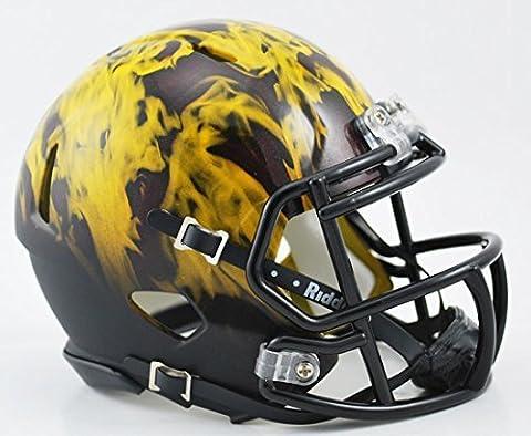 Arizona State Sun Devils Speed Mini Helmet - Alt Flames by Riddell