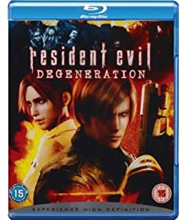 Resident Evil: Degeneration [Blu-ray] [2009] [Region Free] (B001J1O88O) | Amazon price tracker / tracking, Amazon price history charts, Amazon price watches, Amazon price drop alerts