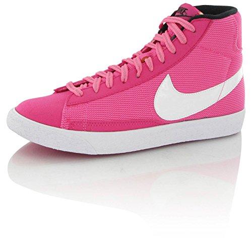 Nike Blazer Meados Do Vintage (k161) Vívida Glow-rosa Preto-branco-de-rosa (630867-600)