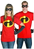 Best Mad Engine Mens Costumes - Old Glory Mens The Incredibles - Costume T-Shirt Review