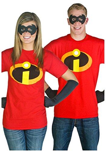 Adult Incredibles T-Shirt Fancy dress costume 4X (T-shirt 4x)