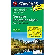 Gesäuse - Ennstaler Alpen - Pyhrnpass - Eisenerz: Wanderkarte mit Aktiv Guide, alpinen Skirouten, Langlaufloipen und Radrouten. GPS-genau. 1:35000 (KOMPASS-Wanderkarten, Band 69)