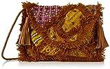 Antik Batik Damen Chubba Wallet Taschenorganizer, Braun (Tan), 3x23x33 cm