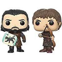 Funko 12378 - Game of Thrones Pop Vinyl Figure 2 Pack Jon Snow Vs Ramsay Bolton Duel, 9 cm