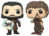 Set figuras POP! Game of Thrones Jon Snow & Ramsay Bolton Duel