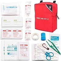 ABILITH Erste Hilfe Kasten Verbandskasten, Erste Hilfe Set Mini Notfalltasche für Haushalt, Arbeit, Auto, Outdoor, Camping, Wandern und Survival