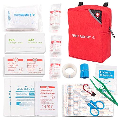 Erste Hilfe Kasten Verbandskasten, ABILITH Erste Hilfe Set Mini Notfalltasche für Haushalt, Arbeit, Auto, Outdoor, Camping, Wandern und Survival
