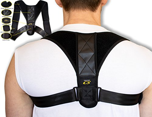 Only1MILLION Back Posture Corrector Brace Free Comfort Pads