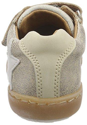 BisgaardVelcro Shoes - Scarpe da Ginnastica Basse Unisex – Bambini Silber (07 Glitter-silver)