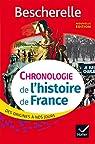 Chronologie de l'histoire de France par Bourel