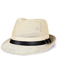 Mujer a lo Largo del Sombrero para el Sol Hat Sombrero de Visera de Lino de e5ed87f942dd