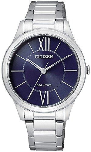 Citizen Eco Drive Lady EM0410-58L - Reloj de mujer, solar con armis de acero.