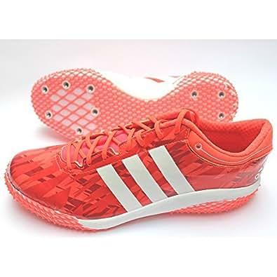 Adidas Adizero HJ ST WC Chaussures Athlétisme Unisexe inclus Crampons - rouge, Homme, 43 1/3 EU
