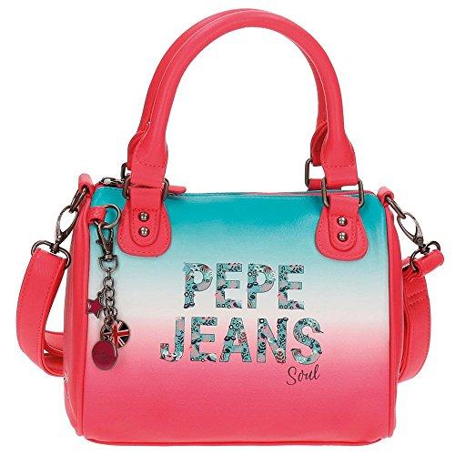 Pepe Jeans borsa a tracolla, 25 cm, 6.9 liters, Multicolore