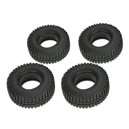MagiDeal 4pcs Klettern Reifen Autoreifen Rock Crawler Reifen Für 1/10 RC4WD D90 Axiale SCX10 Rc
