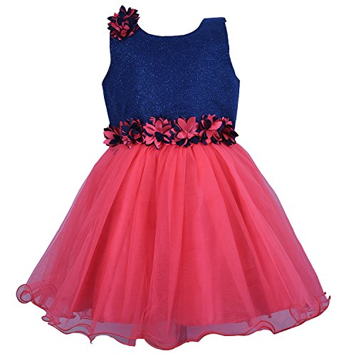 Wish Karo Party wear Baby Girls Frock Dress DNbx1005T (4-5 yrs)