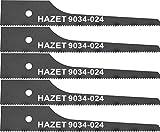 HAZET Stichsägeblatt-Satz (5teilig, 24 Zähne, für HAZET 9034 P-2) 9034-024/5