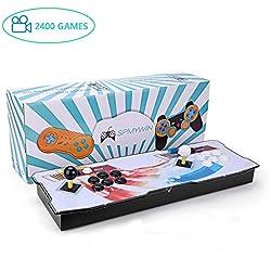 Spmywin 2400 Juegos Retro Pandora Box 6s Consola Portatil 1280x720 Full HD Maquina Arcade Retro Consolas Videojuegos CPU Avanzada Mini Arcade