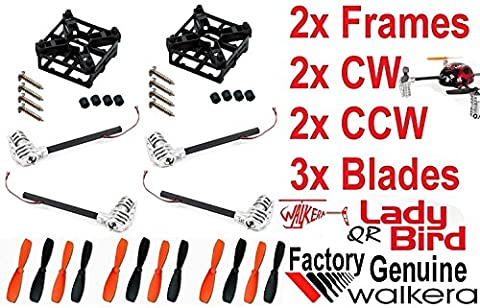 QR Ladybird Motor Frame Propellers COMBO Walkera Genuine Factory Parts USA SHIP - FAST FREE SHIPPING FROM Orlando, Florida USA!