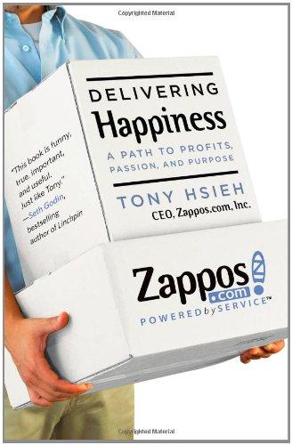 Buchseite und Rezensionen zu 'Delivering Happiness: A Path to Profits, Passion, and Purpose' von Tony Hsieh