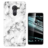 002741 - Bloggers Fashion White Marble Effect Design