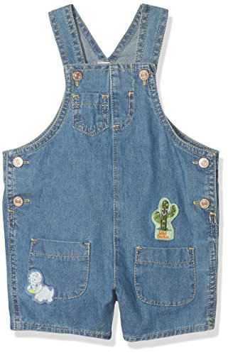 United Colors of Benetton Peto, (Denim Dungaree with Cactus Applikation 901), 56...