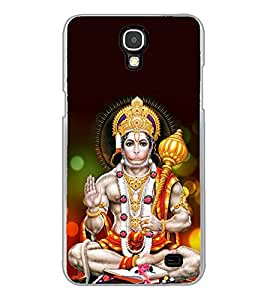 ifasho Designer Back Case Cover for Samsung Galaxy Mega 2 SM-G750H (Hanuman Hanuman Rudraksha Hanuman Pendent Hanuman New Sticker)