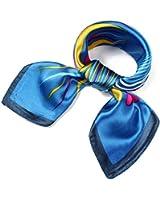 Fashion Square Scarf Neck Head Multiuse Five Colors Available
