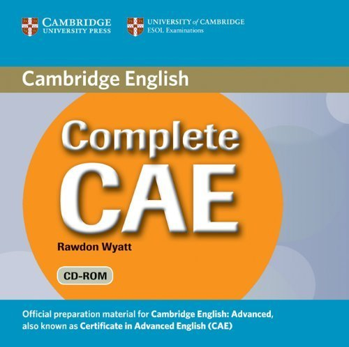Complete CAE Student's Book Pack (Student's Book with Answers with CD-ROM and Class Audio CDs (3)) by Guy Brook-Hart (2009-05-25)