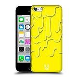 Head Case Designs Gelber Tropf Cmyk Kombination Ruckseite Hülle für Apple iPhone 5c