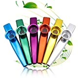 Best Kazoos - Metal Kazoo Musical Instruments 6 Different Colors Aluminum Review