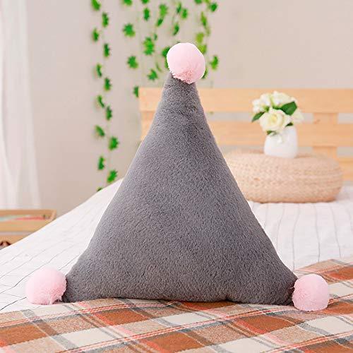 NEEDRA Plüsch Stern Mond Form Kissen Schlafzimmer Wohnzimmer Dekoration Komfortabel