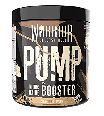 Warrior Pump Pre Workout Extreme Nitric Oxide Booster 30 Servings from Warrior Supplements