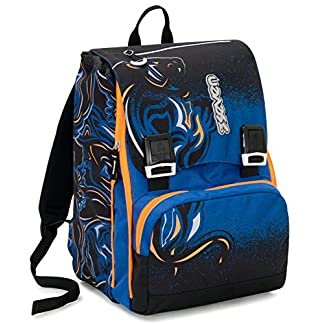 Seven Zaino Sdopp.Big Seven Wildy Boy Mochila Infantil 41 Centimeters 28 Azul (BLU)