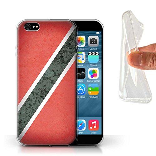 Stuff4 Gel TPU Hülle / Case für Apple iPhone 7 Plus / Venezuela Muster / Amerika Flagge Kollektion Trinidad & Tobago
