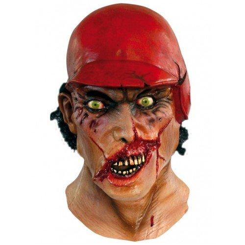 Mask Head & Neck Zombie Major League