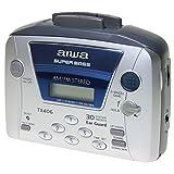 AIWA WALKMAN HSTX-406 Kassetten-Radio mit AM / FM-und 30 MEMORIAS - SUPER BASS