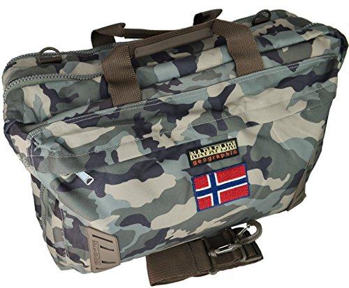 Borsa Zaino Tracolla Uomo Donna Multicolore Napapijri Bag Nordland Overnight Camoufage N5Z25