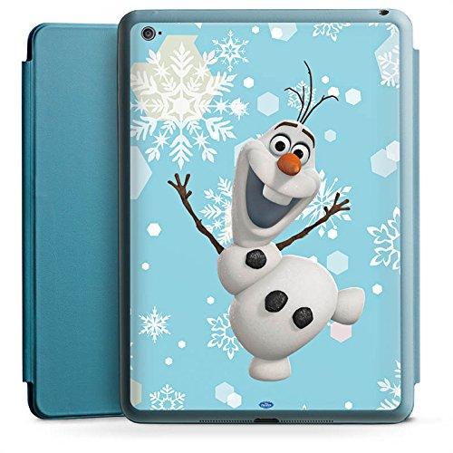 Apple iPad Air 2 Smart Case Hülle Tasche mit Ständer Smart Cover Disney Frozen Olaf Geschenk Fanartikel (Ipad Disney Cover)