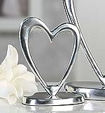 Wunderschöne Skulptur Herz aus Aluminium