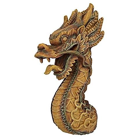 Design Toscano the Fire Dragon Wall Sculpture