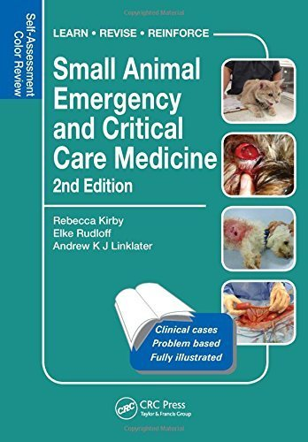 Small Animal Emergency and Critical Care Medicine: Self-Assessment Color Review, Second Edition (Veterinary Self-Assessment Color Review Series) 2nd Edition by Kirby, Rebecca, Rudloff, Elke, Linklater, Drew (2014) Paperback