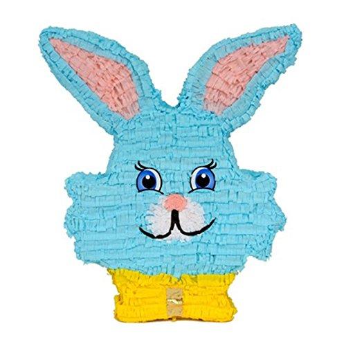 Mexikanische Pinata - Blauer Hase Hase - Birthday Party Zubehör und (Zubehör Kit Bunny)