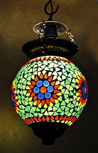 Rajasthan casa di vetro decorativo a sospensione Luce Ombra soffitto lampada a (Illuminazione Decorativa A Sospensione Illuminazione)
