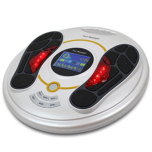 QMMCK Masseur pieds Circulation plus Appareil de massage...
